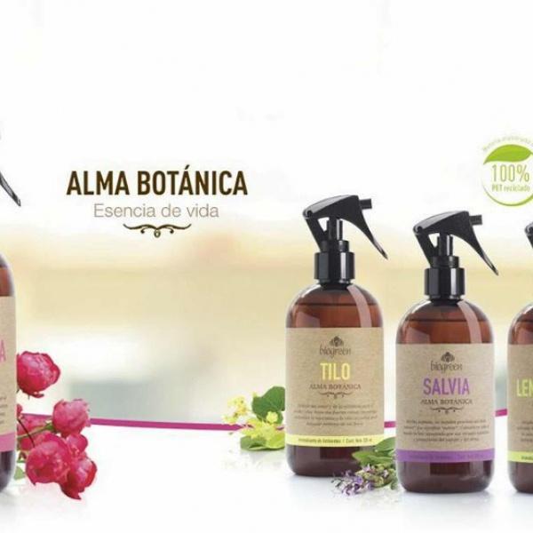 Aromatizante de Ambiente 330Ml. Biogreen Linea Alma Botánica