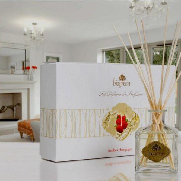 Set Difusor de Perfume Biogreen 110Ml.