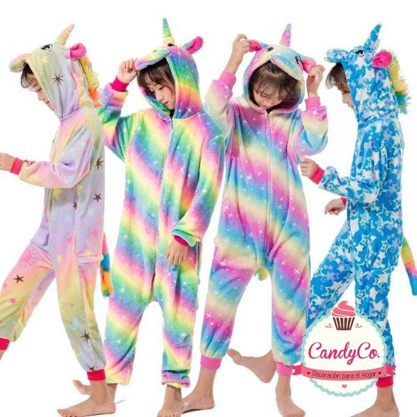 Pijama Unicornio y Animales para Niños