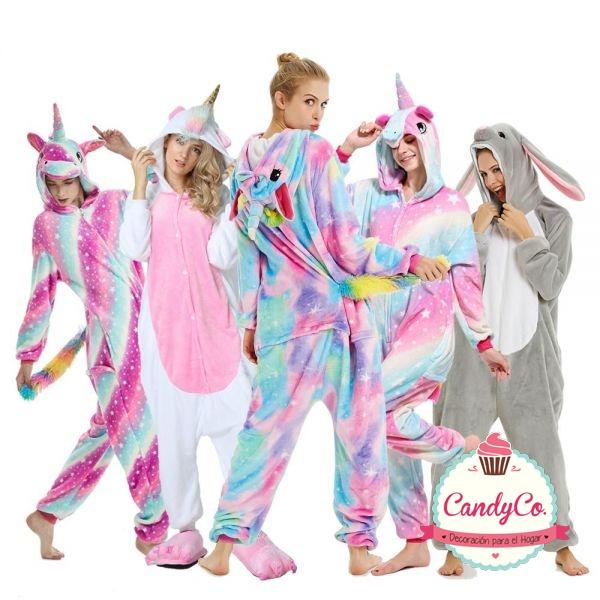 Pijama Unicornio y Animales para Adultos