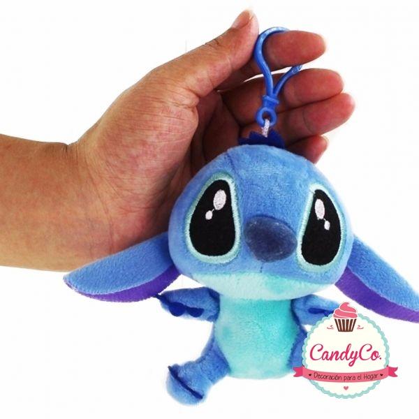 Llavero Peluche Stitch Azul