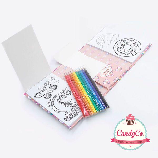 Set para Colorear con Lápices