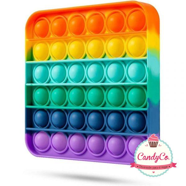 Pop It Cuadrado Multicolor Importado
