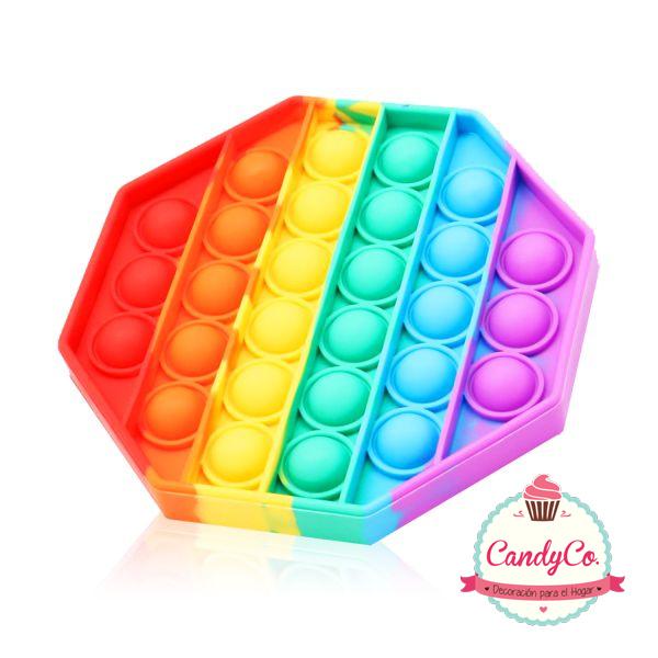 Pop It Hexagonal Multicolor Importado