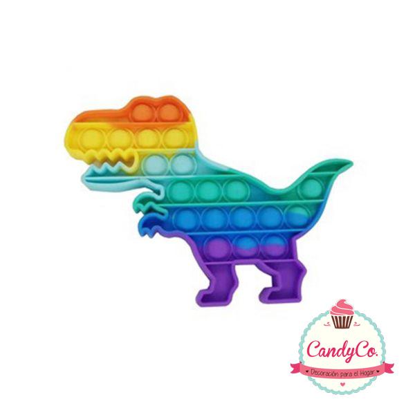 Pop It Dinosaurio Multicolor Importado