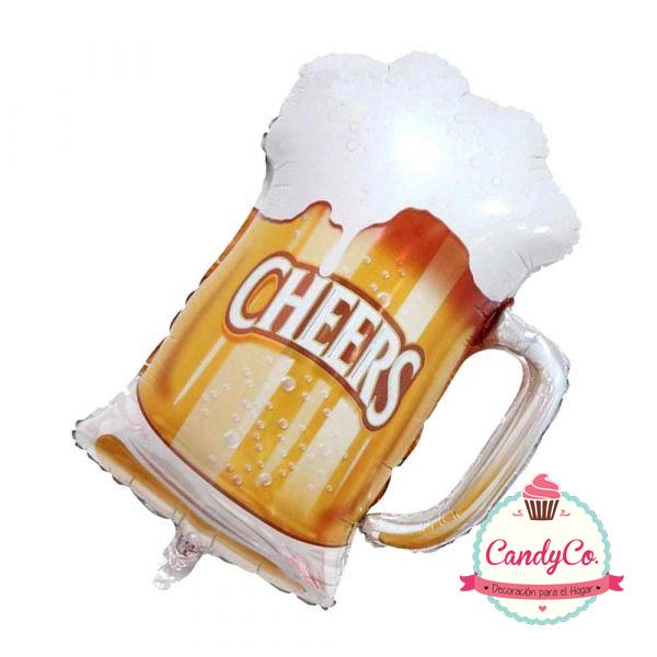 Globo con Forma de Vaso de Cerveza