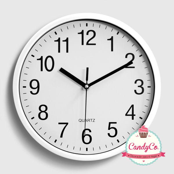 Reloj de Pared Clásico